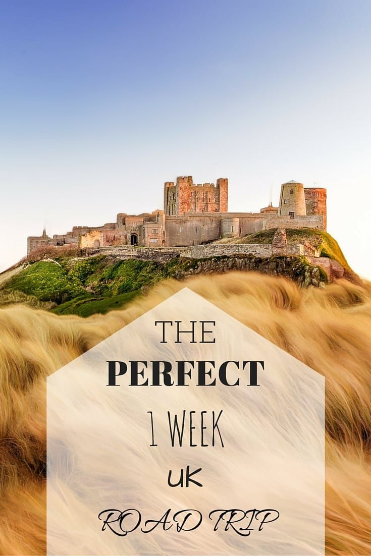 The perfect itinerary for a one week self-drive road trip of the UK, featuring ancient monuments, medieval towns, crumbling castles and more! Includes tips on where to stay, when to go and how to get around.