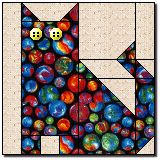 Kid's Cat... This site has a bunch of quilt block tutorials. Very simple, very straightforward, no frills directions.