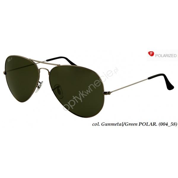 Okulary przeciwsłoneczne #Ray #Ban:: #AVIATOR Large Metal z polaryzacją firmy rb 3025 004/58  $205