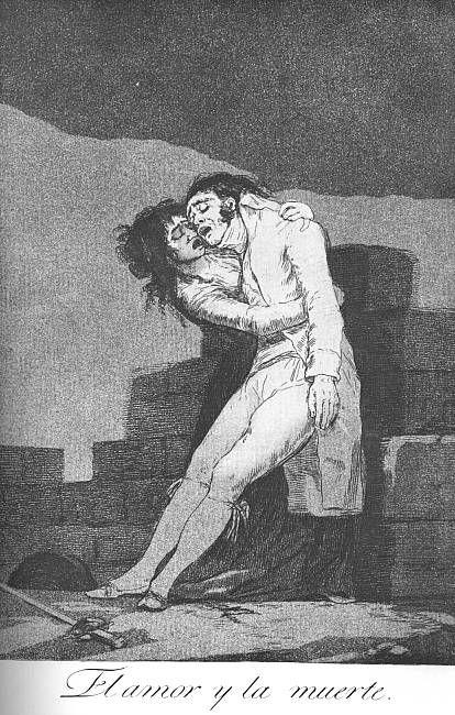 Love and Death -- Francisco Goya