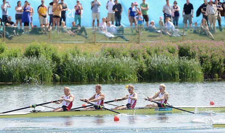 World Rowing•Galleries   2012 Olympic Rowing Regatta #LM4- #Denmark #Ebesen