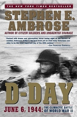 D-Day by Stephen Ambrose  I'm not a big war buff, but I do enjoy history and some non-fiction work mixed in with all the fantasy/sci-fi/Koontz books that I read.  This book, thick as a brick and sometimes dry, was overall very enjoyable from the perspective of all the details that went on behind the scenes before one shot was ever fired on the beaches of Normandy.  So many background stories going on in occupied France & elsewhere around the world put me in awe.