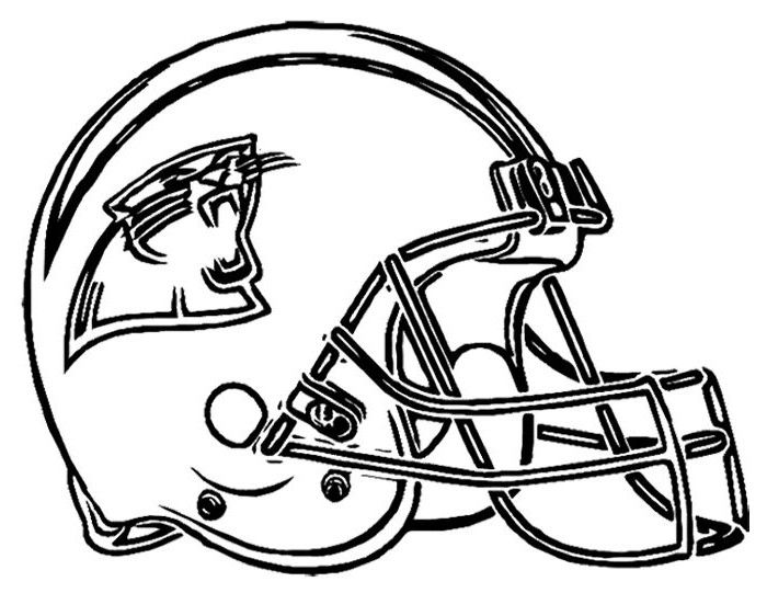 Football Helmet Coloring Pages Football Coloring Pages