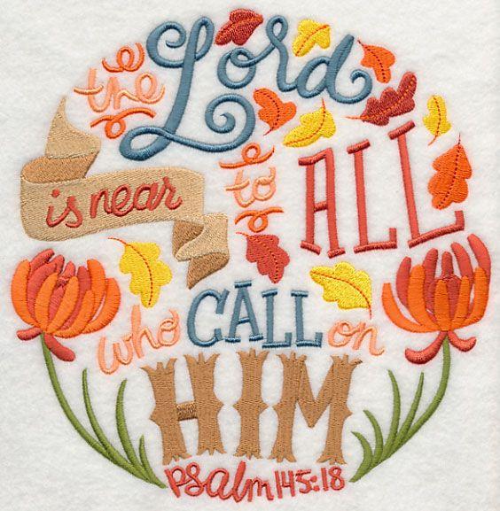 psalm 145 18 bible scripture verse