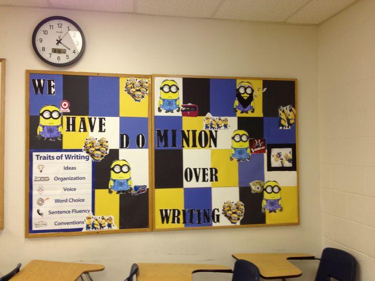 Minion Classroom Decor ~ Best minion bulletin board ideas on pinterest
