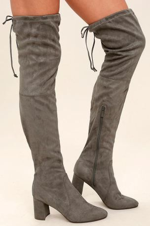 The 15 Best Suede Knee High Boots You Can Buy Online - Society19 UK