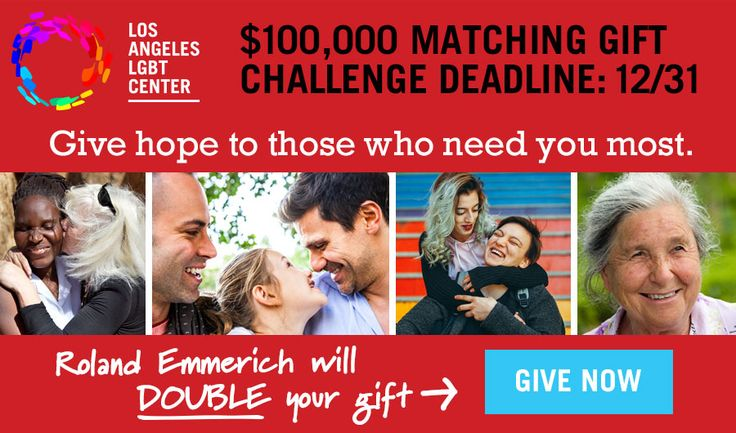Los Angeles LGBT Center - One Day Goal Every Gift Matched