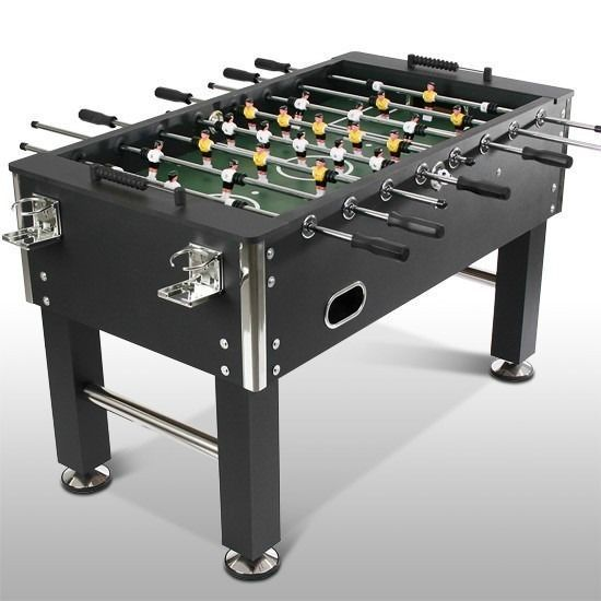Football Table Game Play Soccer Toy Foosball Fun 4 Players Wood Sturdy MDF New