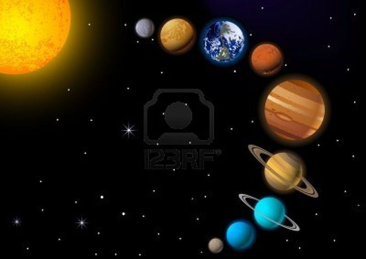 solar system paintings - photo #29