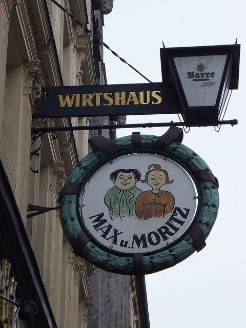 Max und Moritz: existing since 1902 they offer kitchen in the Berliner Style - Kreuzberg - Max und Moritz - always get into some kind of mischief - my mother read their adventures to us in German when we were children.