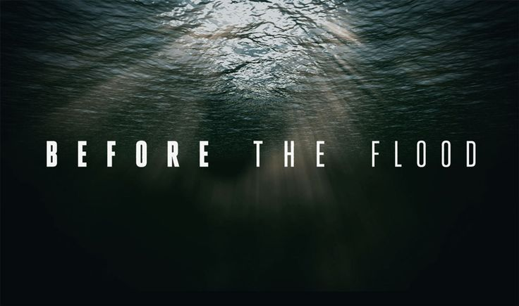 Watch Before the Flood - TV Premiere 10/30 and Online (video)