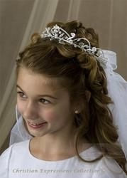 First Communion Hairstyles 7 Best First Communion Images On Pinterest  First Holy Communion