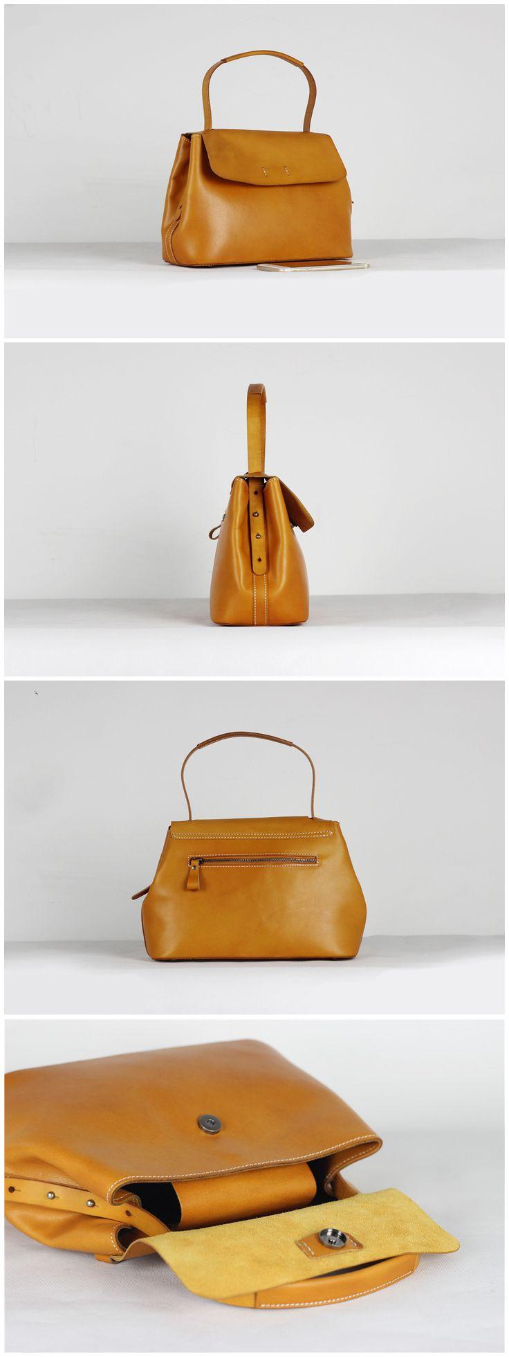 Genuine Leather Tote Bag Women Handbag