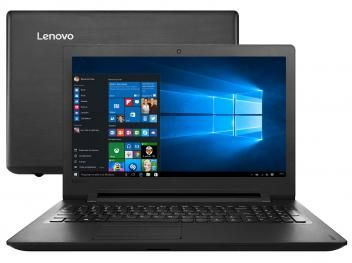 """Notebook Lenovo Ideapad 110 Intel Dual Core - 4GB 1TB LED 15,6"""" Windows 10   R$ 1.399,00 em até 10x de R$ 139,90 sem juros no cartão de crédito"""