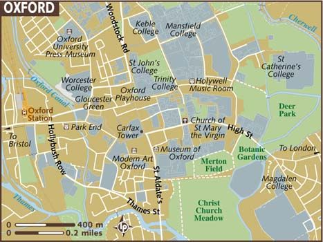 35 Best Images About Maps Of Oxford On Pinterest