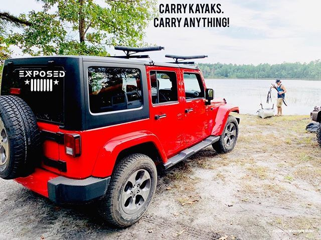 Kayak Mounts Click In And Out With Just A Push Pin Use Them When