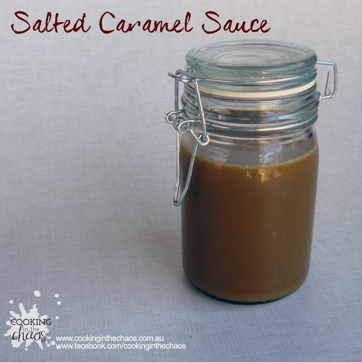 Salted Caramel Sauce - Thermomix Recipe - Cooking in the Chaos