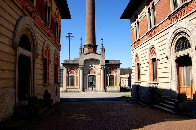 #Crespi d'Adda, #CapriateSanGervasio, #Bergamo