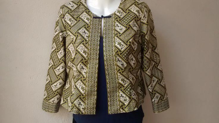 Custom made Batik Blazer by measuring2fit on Etsy