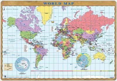 Världskartor - Affischer på AllPosters.se