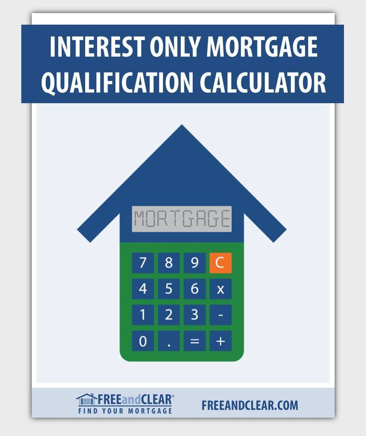 Interest Only Mortgage Qualification Calculator Freeandclear Mortgage Amortization Mortgage Refinance Calculator Refinance Calculator