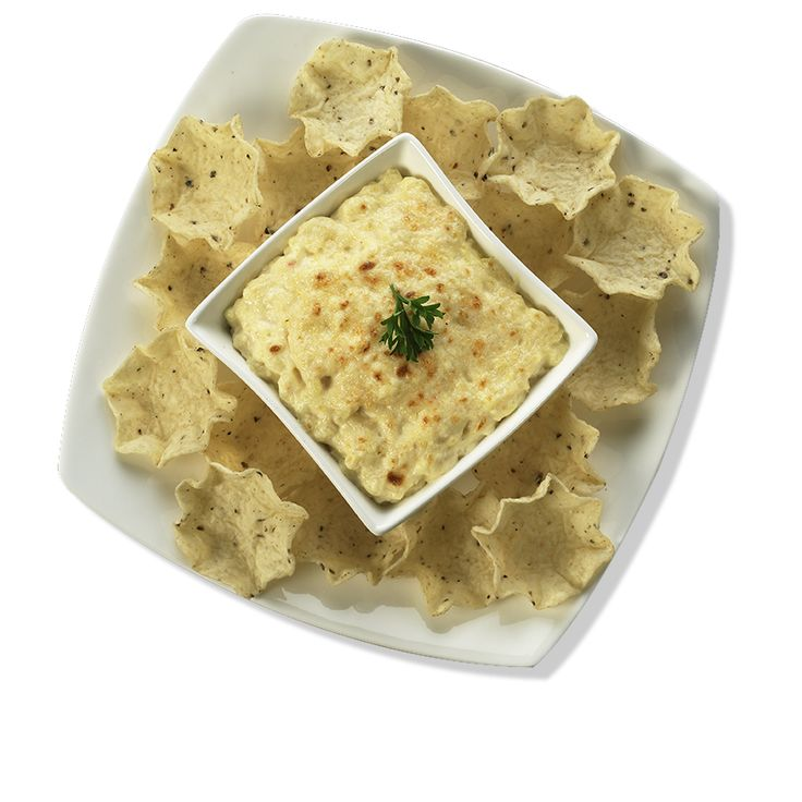 Hot Onion and Parmesan Dip - Creamy and rich, this decadent cheesy delight is the perfect pick for any Tostitos® chip.