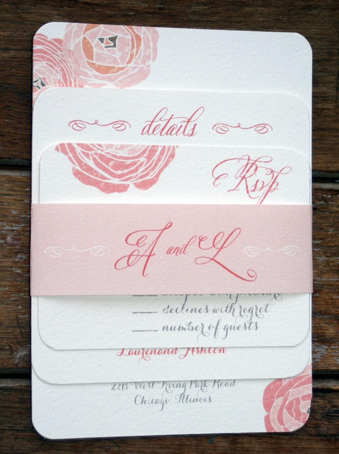 birdcage wedding invitation template%0A Modern Vintage Wedding Invitation  Rustic and Romantic Shabby Chicvintage  flowers