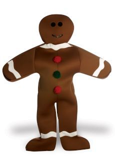 Ginger Bread man Available for hire .. Lge