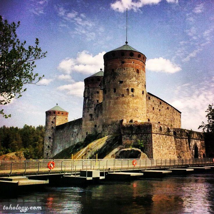 #Savonlinna  #Olavinlinna #fortress #Finland #Suomi