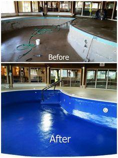 Waterproofing Pool Repair - DIY.  A solution that actually works!