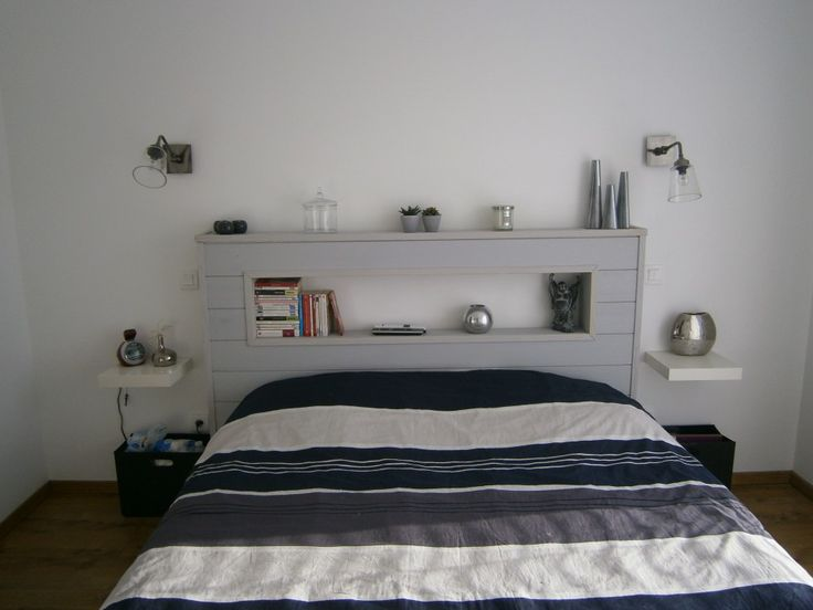 Tete de lit - Tete de lit fabriquée par mon mari.