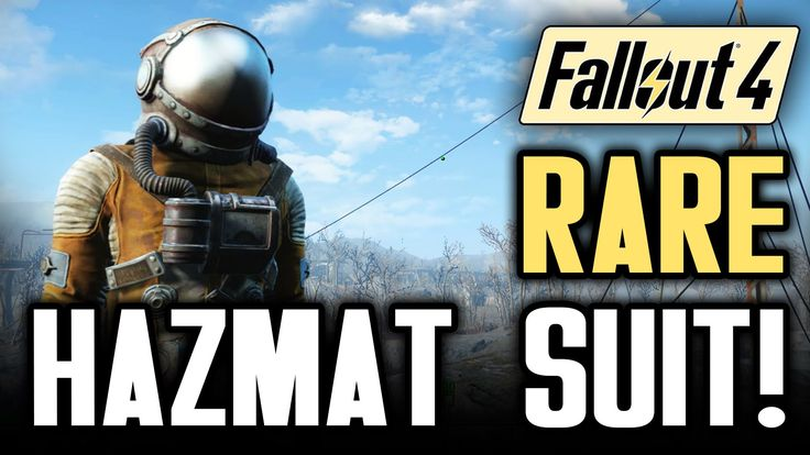 Fallout 4 Gameplay Tips: The Hazmat Suit! Survive The Glowing Sea With N...