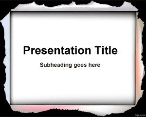 Serious PowerPoint template is a free PowerPoint presentation background that you can download for any general purpose presentation