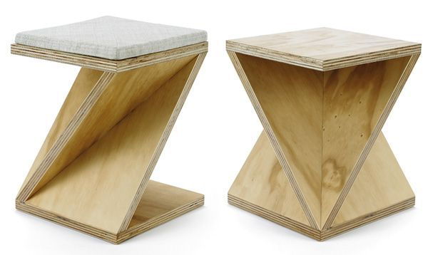 Simple geometric furniture collection: Series 1a by