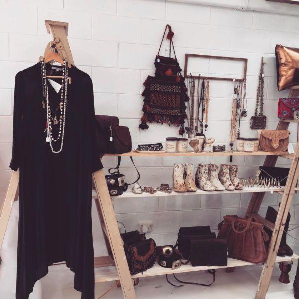 """thegypsyandtheofficerOur """"How Long is Forever"""" Dress looks amazing with some Mala beads and tassels!!!!  #Fashion#fashionblogger#style#styleblogger#blog#bohemian#boho#bohochic#boholuxe#gypsy#gypset#retro#vintage#style#bohostyle#freespirit#shop#howlongusforever#alice#ladder#styling#ponyskin#bohomaxidress#dress#floaty#winter#blackdress#different#unique#superlongdress"""