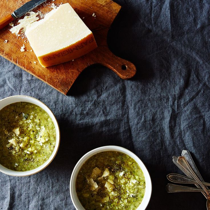 Melissa Clark's Seared Broccoli and Potato Soup recipe on Food52
