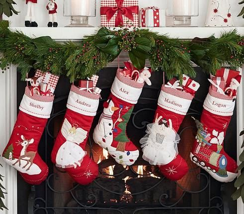 Personalized 3D large christmas stockings holidays Decoration stockings-present/gift collection bag christmas ornaments collection
