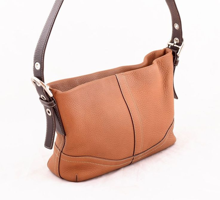 NEW Coach F19766 Coach soho sonoma tan pebbled leather handbag f10942 ... 55fa9b3cc5af7