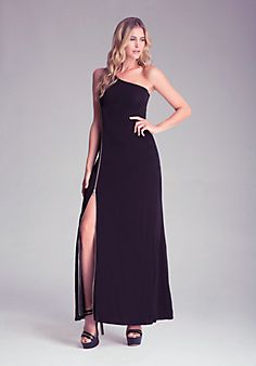 Chile Independence Day Gala- One Shoulder Maxi Dress