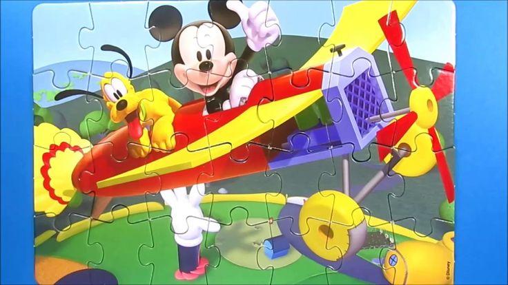 Disney Puzzle Games for kids rompecabezas learning activities quebra cab...