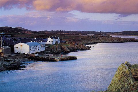 Ardbeg, along with Lagavulin and Laphroaig, forms the Kidalton trio of distilleries on Islay's south coast