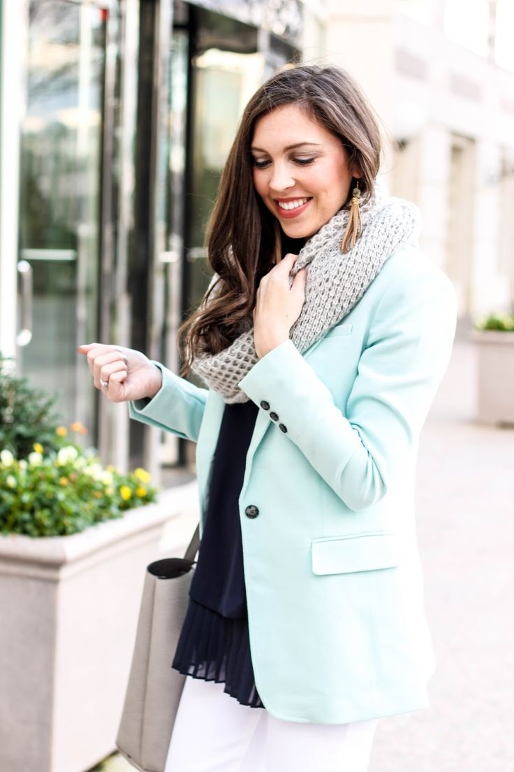 Best 20+ Mint blazer outfit ideas on Pinterest | Mint blazer, Blue ...