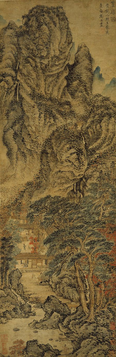 569 best images about chinese japanese painting on for Dynasty mural works