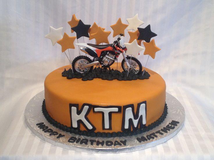 Gateau Moto Cross Ktm Idée D Image De Moto