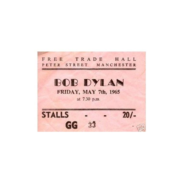 Bob Dylan Ticket Stubs Concert Posters ❤ liked on Polyvore featuring home, home decor, fillers, pink, music, accessories, tickets, music home decor and pink home decor
