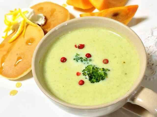 ブレンダーで!簡単☆ブロッコリースープの画像