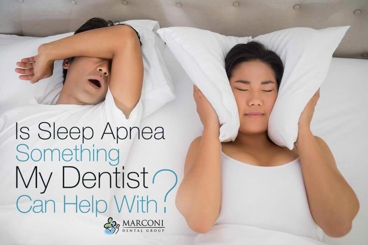 Is Sleep Apnea Something My Dentist Can Help With? Is Sleep Apnea Something My Dentist Can Help With? | Marconi Dental Group  Snoring, sleep disordered breathing and sleep apnea can wreak havoc on your life. Not only does sleep apnea make it difficult for you to sleep each night, it also increases your risk of health problems like obesity, cardiovascular disease and even gum disease. Read more: http://marconidentalgroup.com/dental-devices/is-sleep-apnea-something-my-dentist-can-help-with/