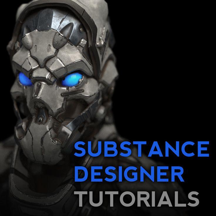 Substance Designer Quickstart Tutorials, Michael Pavlovich on ArtStation at https://www.artstation.com/artwork/BamXD