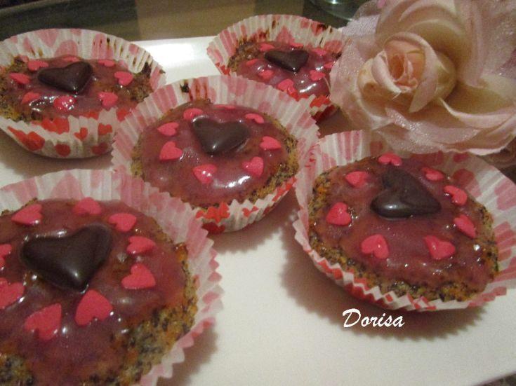 Fotorecept: Mrkvovo-makové muffiny bez múky