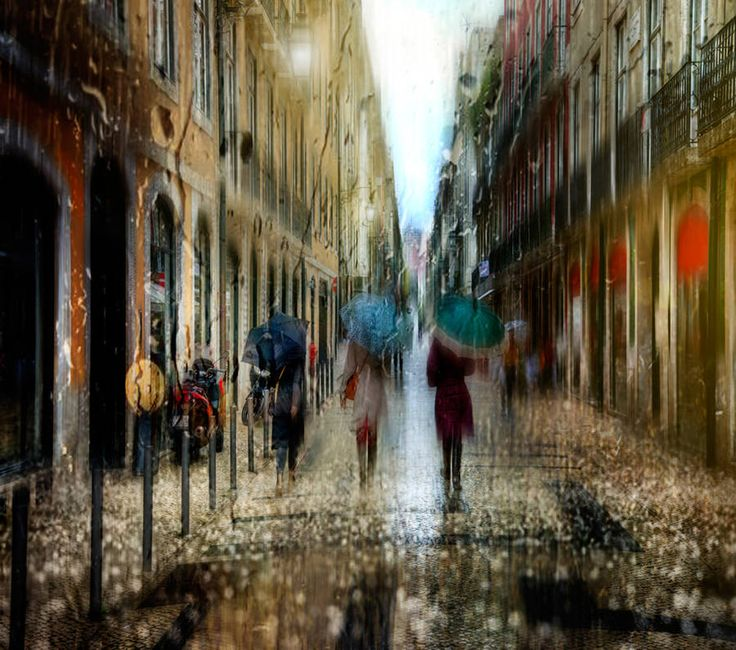 Rainy Day Pictures Look Like Oil Paintings